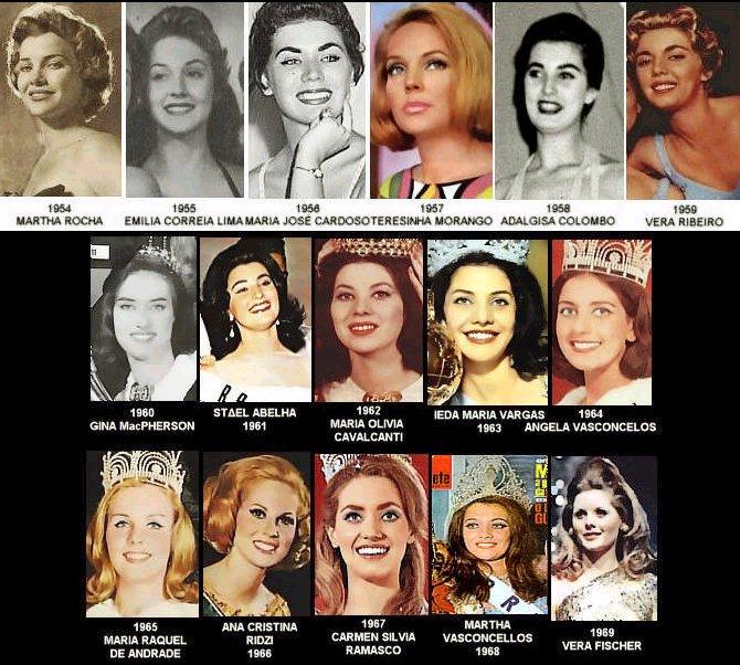 Miss Brasil 1954-1959