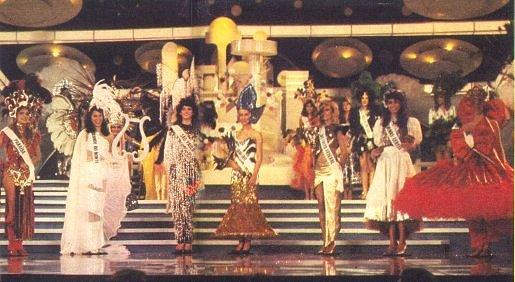 Miss Brasil anos 80
