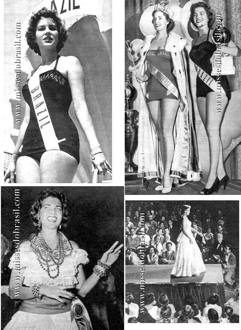 Marta Rocha Miss Brasil 1954