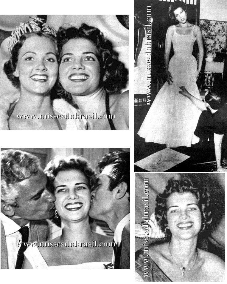 Miss Brasil 1954 Marta Rocha