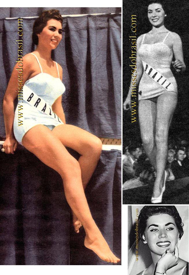 Miss Brasil 1956 Maria José Cardoso