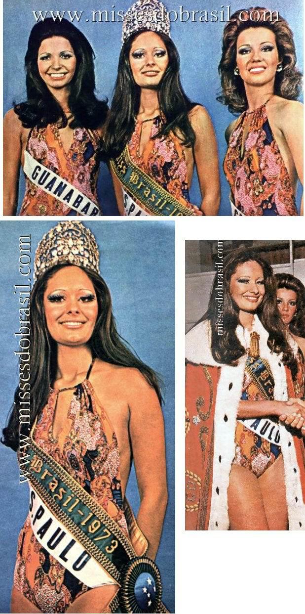 Sandra Mara Ferreira Miss Brasil 1973