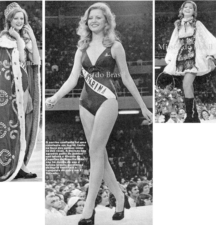 Ingrid Budag Miss Brasil 1975