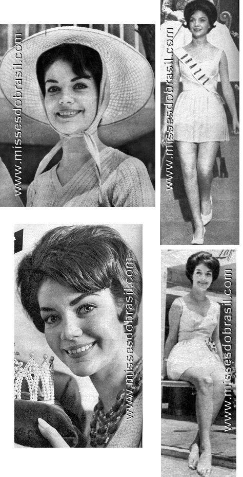 Vera Brauner Miss Brasil Beleza Internacional 1961