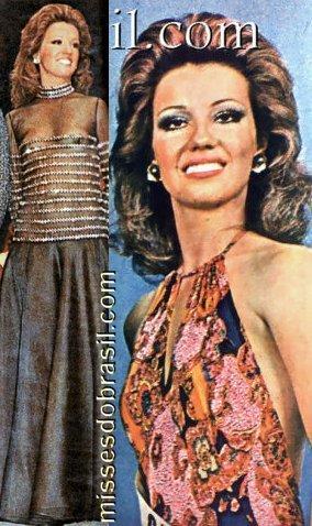 Florence Alvarenga Miss Brasil Mundo 1973