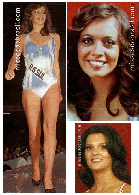 Miss Brasil Mundo 1977 e 1978