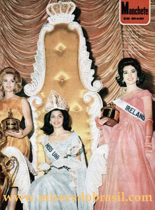 Miss Universo 1963, Ieda Maria Vargas