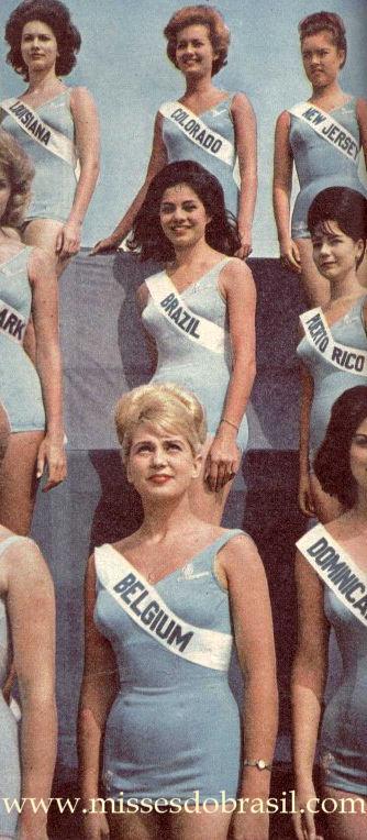 Ieda Vargas Miss Universo 1963