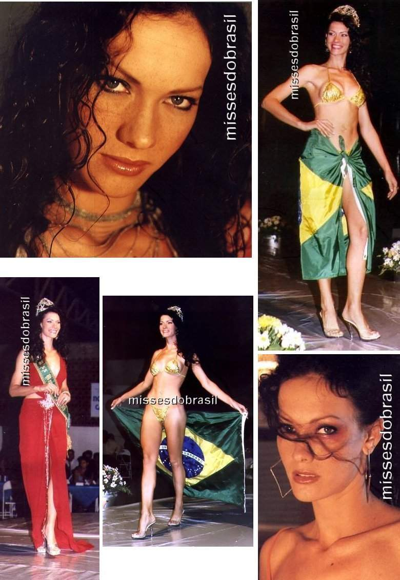 Josiane Krulikoski Miss Brasil 2000