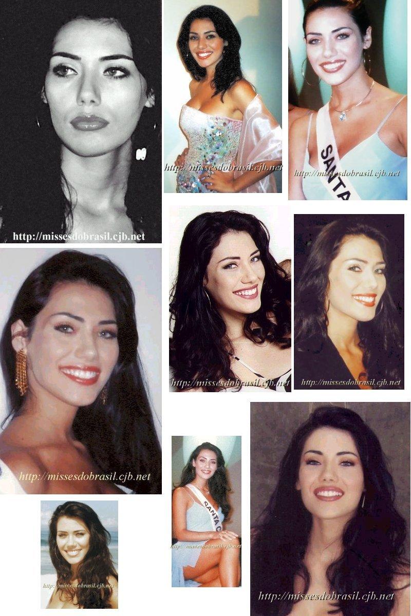 Thaiza Thomsen. Miss Brasil 2002