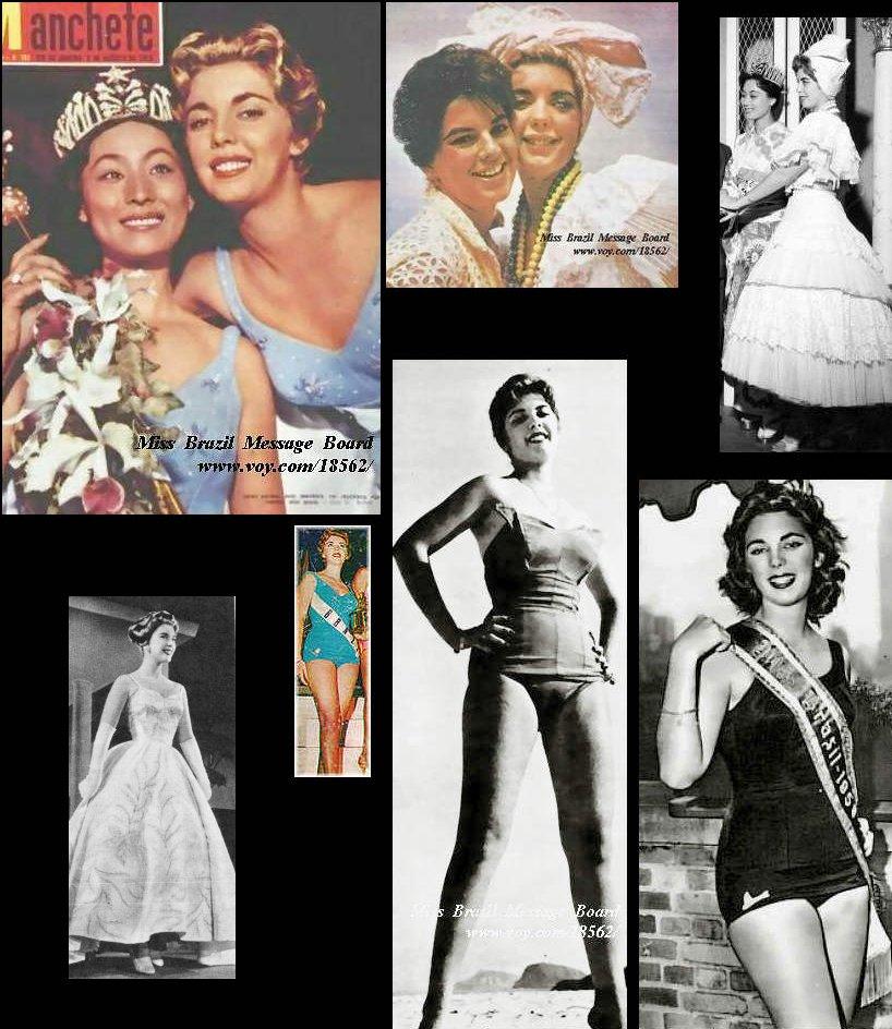 Vera Ribeiro Miss Brasil 1959